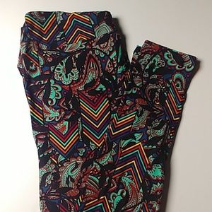 LulaRoe TC leggings Brand New. Multicolored.